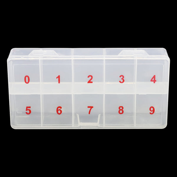 Large Empty Nail Tip Case