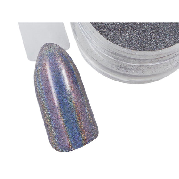 Holographic Chrome Pigment Powder - Naio Nails - 1