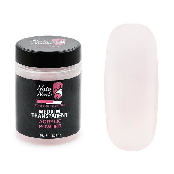 Medium Transparent Pink Acrylic Powder 7g