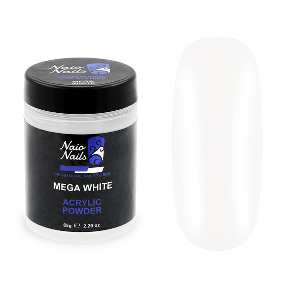 Mega White Acrylic Powder 12g