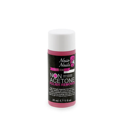Non Acetone Polish Remover 30ml | Naio Nails