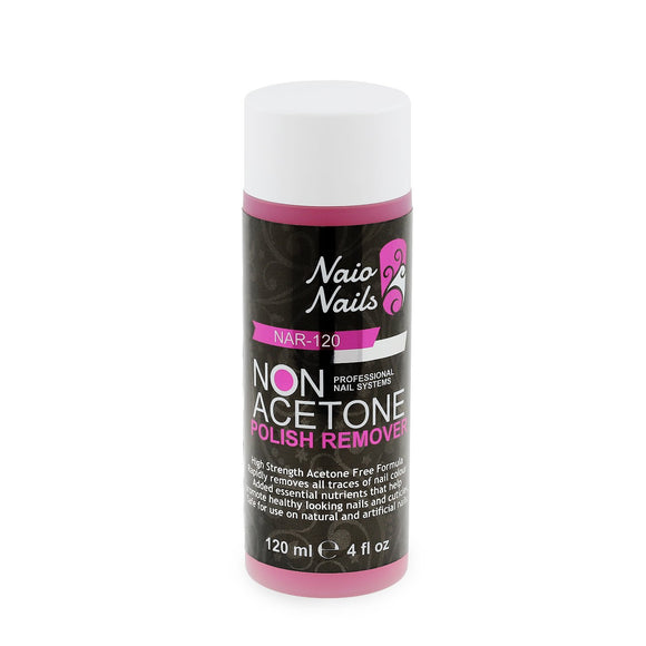 Non Acetone Polish Remover 120ml | Naio Nails