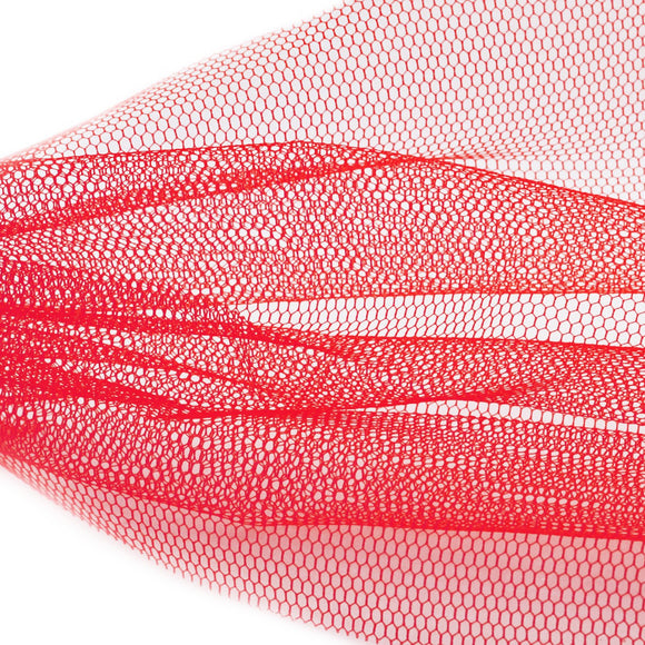 Nail Art Netting - Red