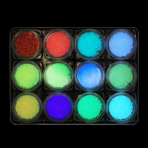 Glow in the Dark Glitter Set - NGS-001 - Chunky