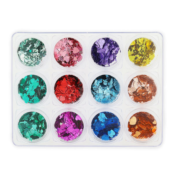 Glitter Set - NGS-004 - Chunky Multicoloured Shapes