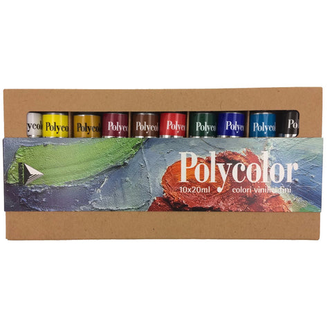 Polycolor Paint Set - 10 Piece
