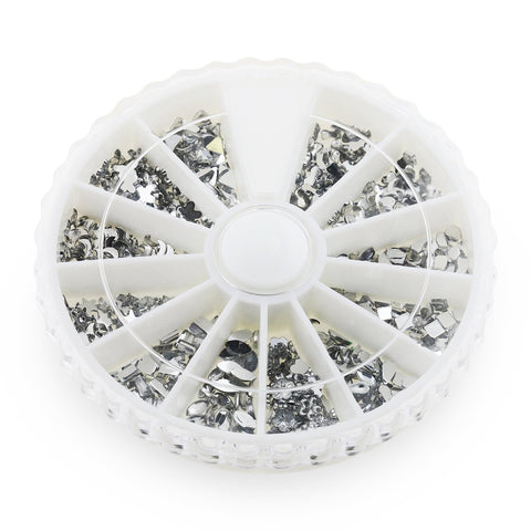 Mix of Crystal Rhinestones in Wheel
