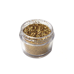 Golden Sahara - Nail Art Mini Glitter 10ml - Naio Nails - 1