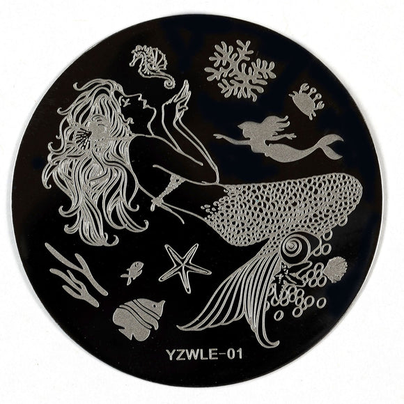 Stamping Plate - YZWLE-01 | Naio Nails