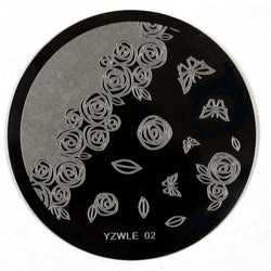 Stamping Plate - YZWLE-02 | Naio Nails