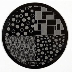 Stamping Plate - YZWLE-05 | Naio Nails