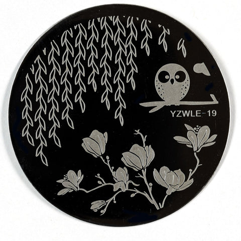 Stamping Plate - YZWLE-19 | Naio Nails
