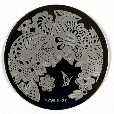 Stamping Plate - YZWLE-27 | Naio Nails