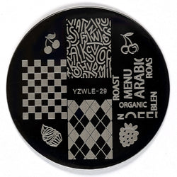 Stamping Plate - YZWLE-29 | Naio Nails