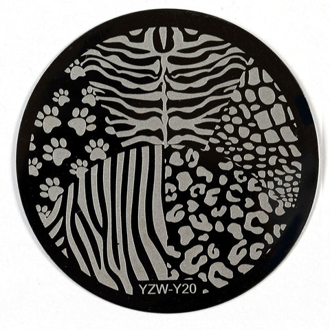Stamping Plate - YZW-Y20 | Naio Nails
