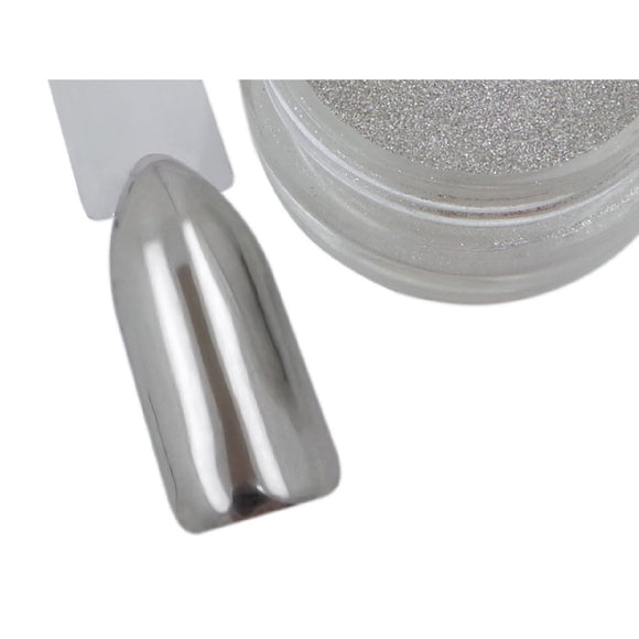 Super Mirror Chrome Pigment Powder - Naio Nails - 1