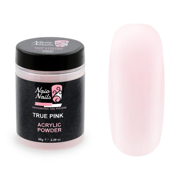 True Pink Transparent Acrylic Powder 65g