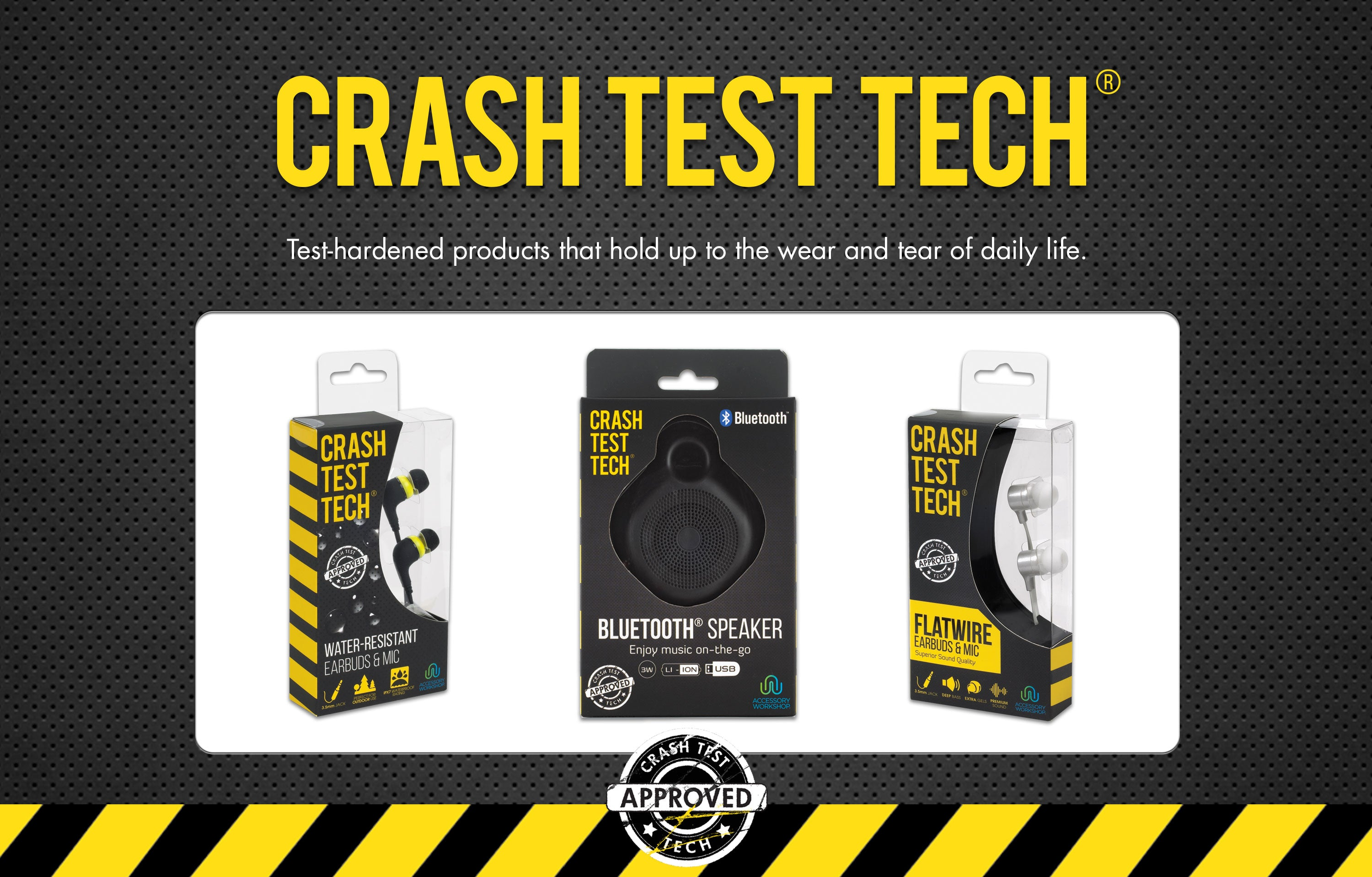 Crash Test Tech Accessories