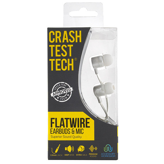 Flatwire Earbuds & Mic
