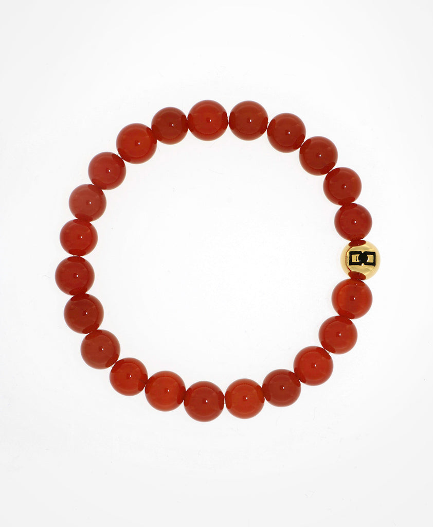 Red Agate-man beds bracelet-Rafael Giordano jewellery