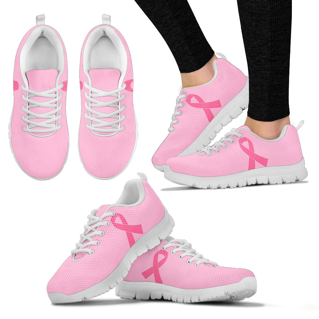 Breast Cancer Awareness Walk for Life Running Shoes Great for Survivors