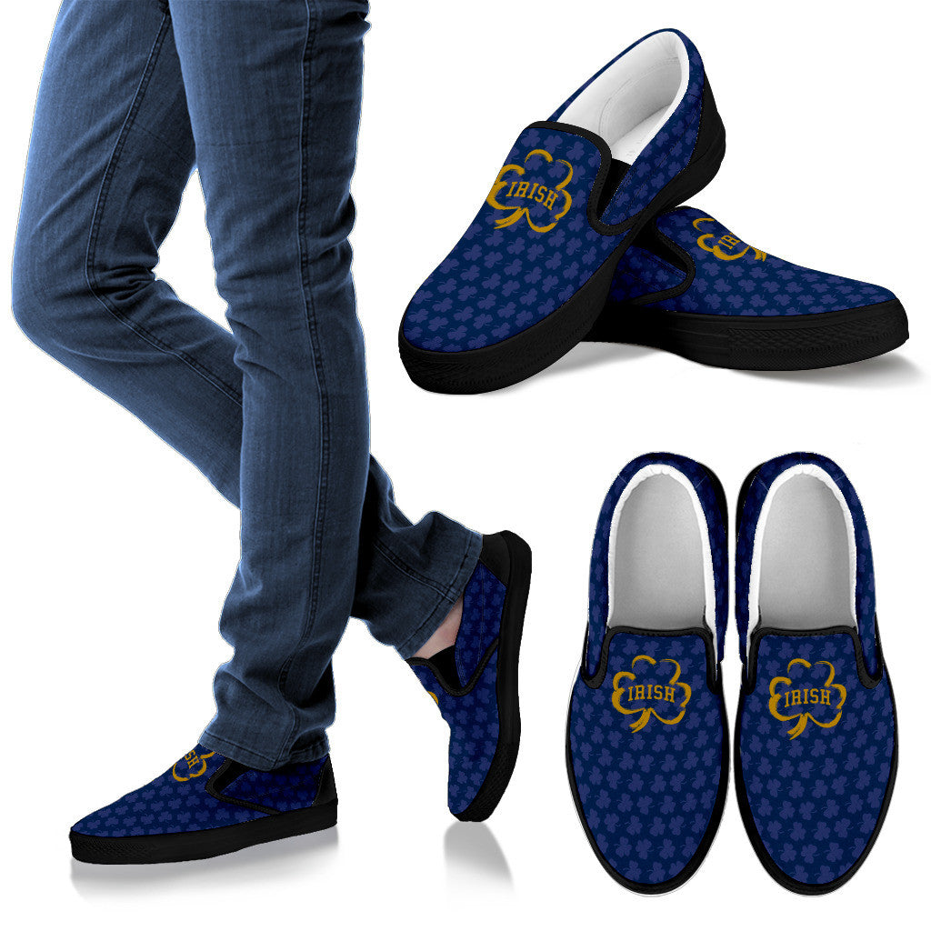 Collector Irish Blue Slip-On's