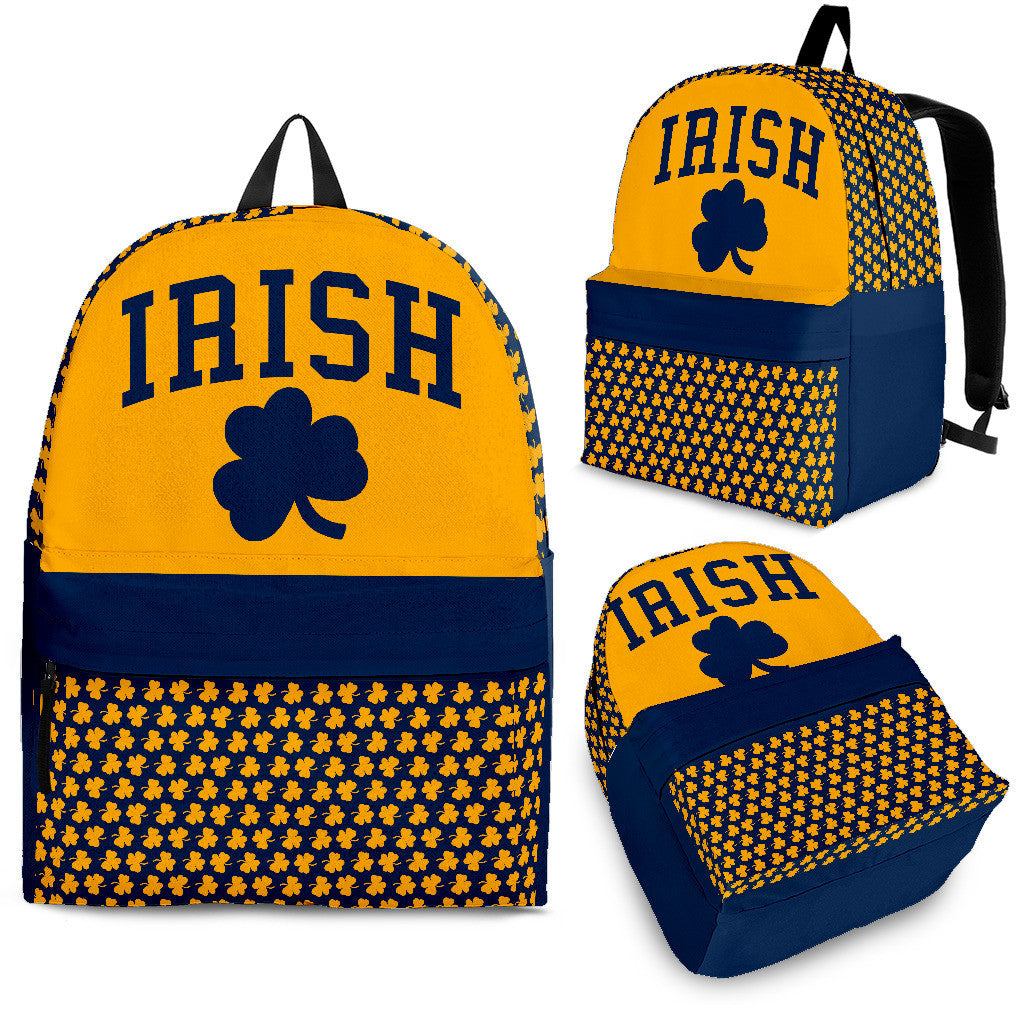Collector Irish Blue/Gold Backpack