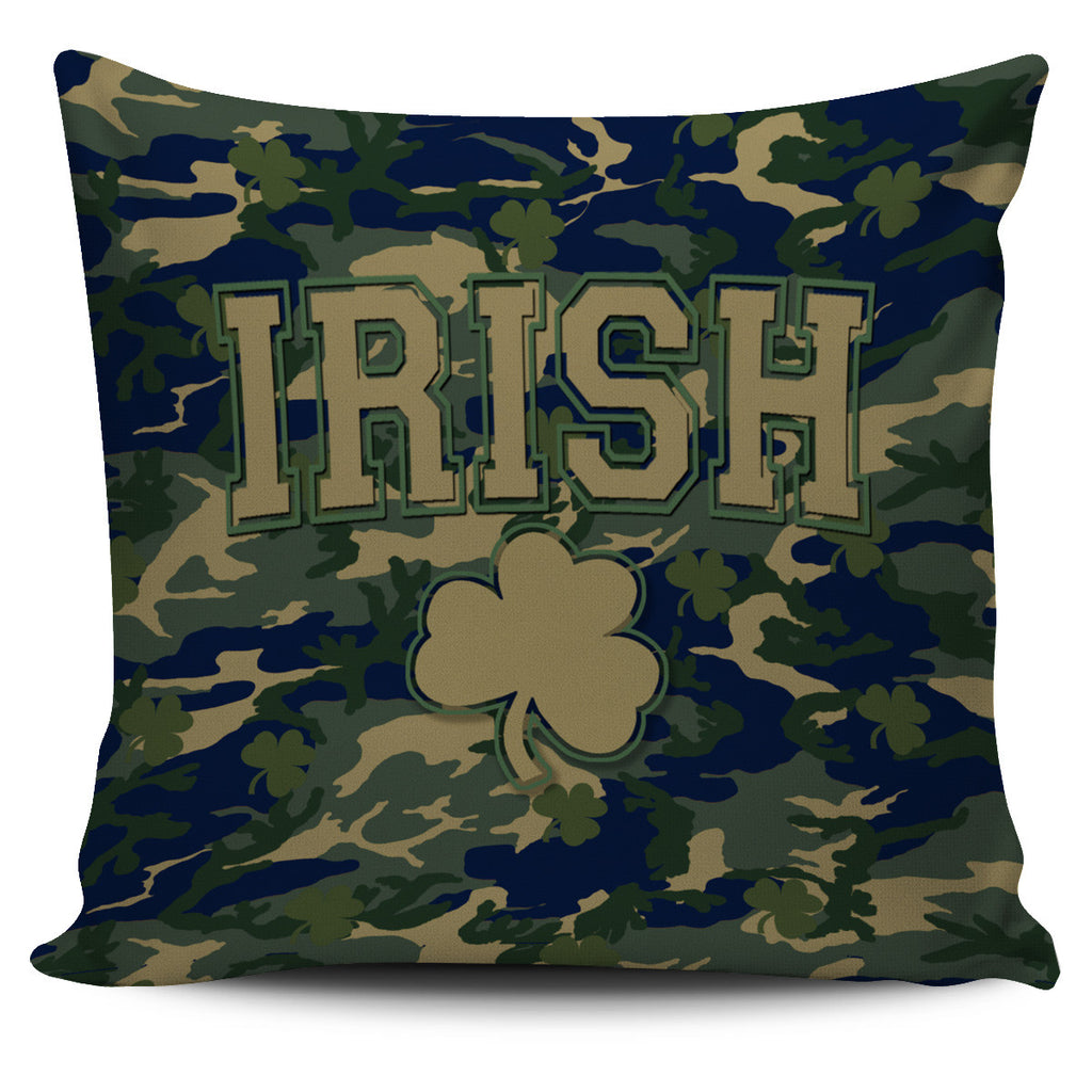 Collector Irish Camouflage Pillow