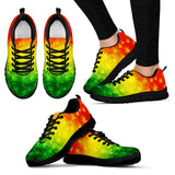 Pop Worx Rasta Flag Running Shoes