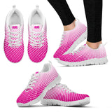 PopWorx™ Polka Dot Rainbow Ombre Running Shoes