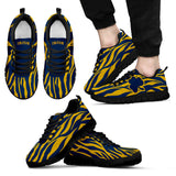 Collector Irish Zebra Print Sneakers