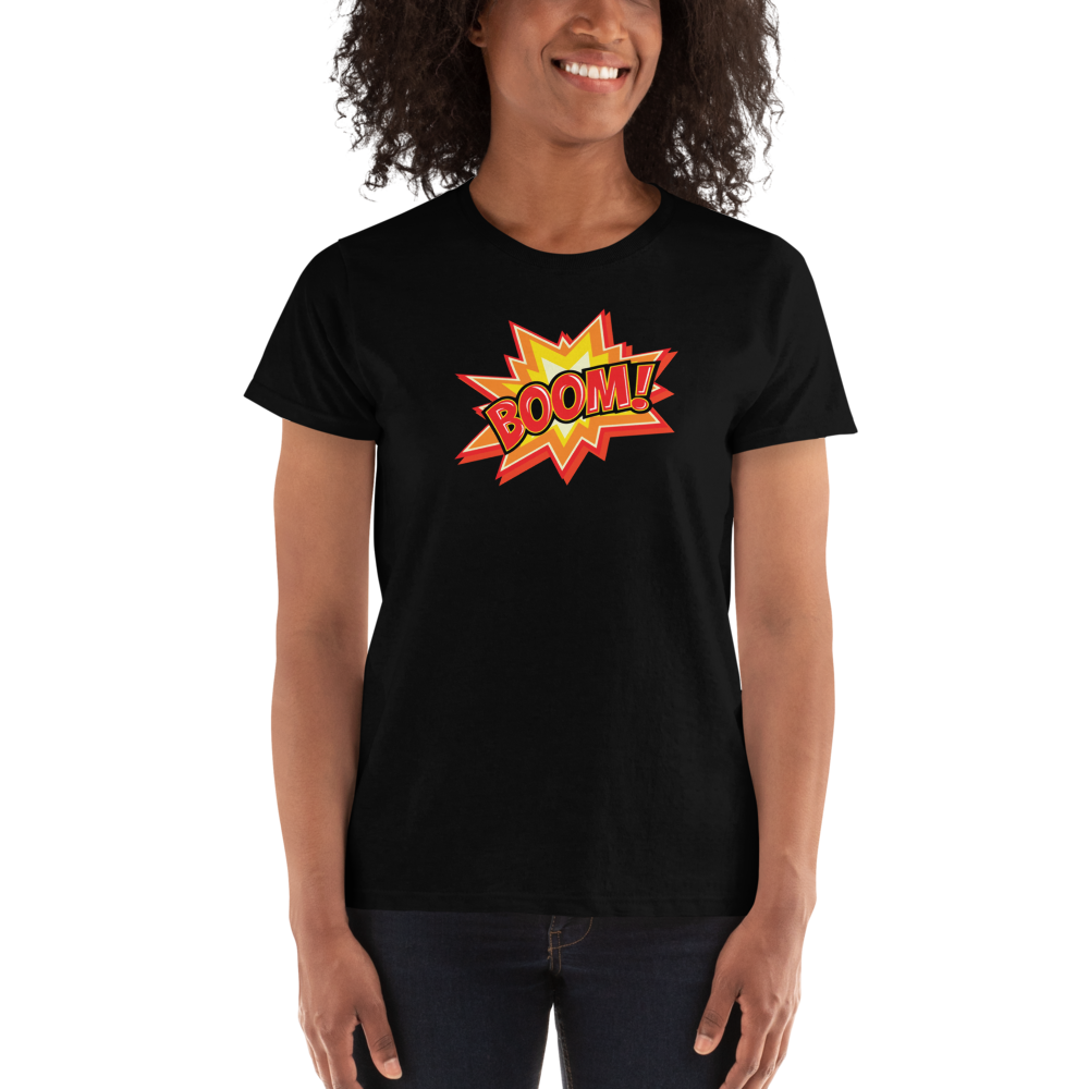 BOOM! Women's Short Sleeve T-shirt