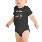 Made in the USA Infant Short Sleeve Onesie
