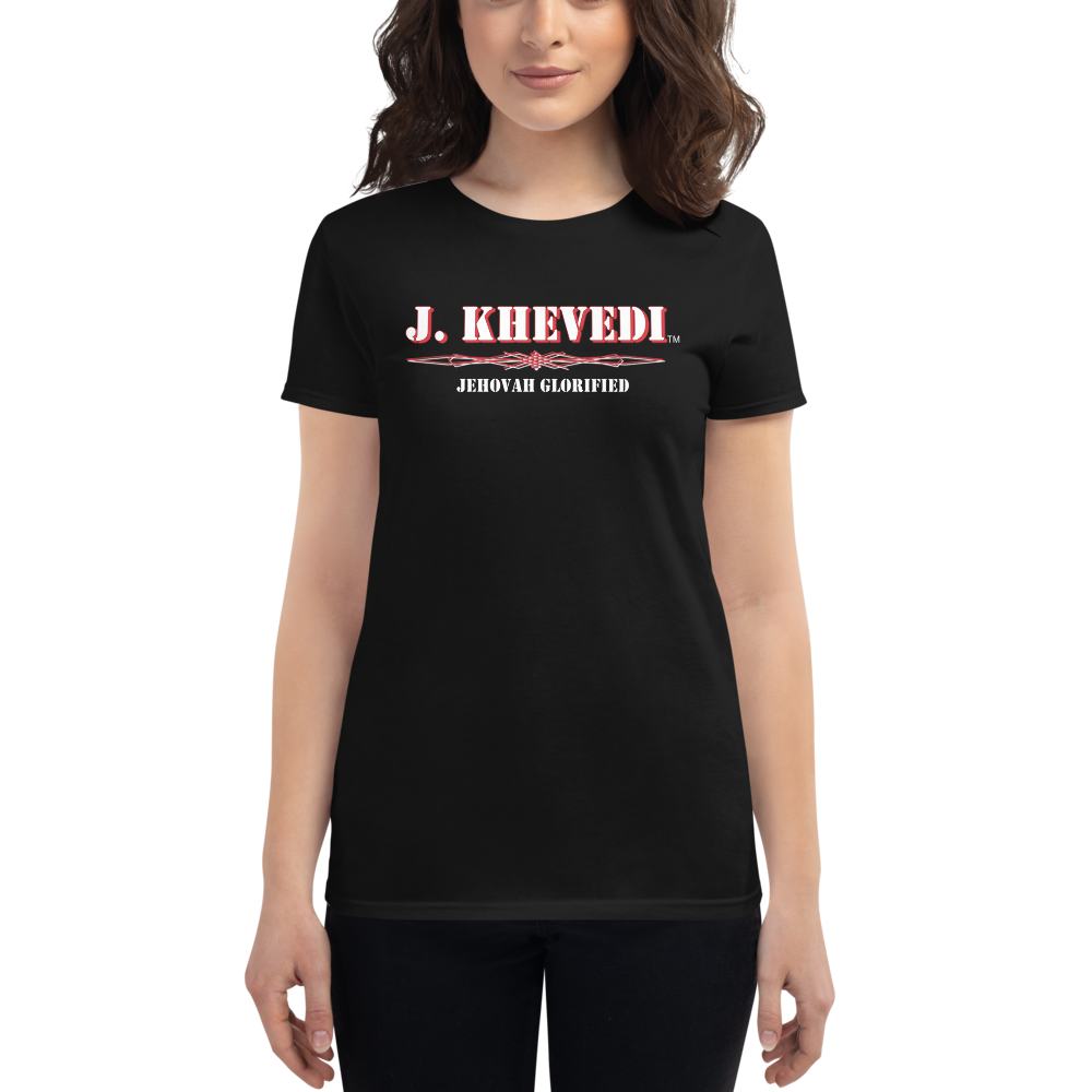 J. Khevedi™ Jehovah Glorified Women's Short Sleeve T-shirt