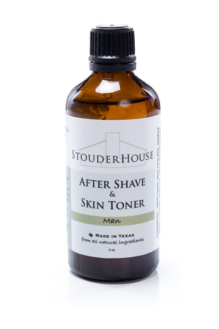 After Shave & Skin Toner - Man