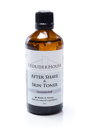 After Shave & Skin Toner - Unscented