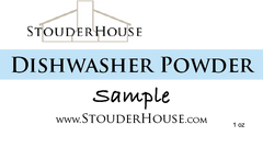 Dishwasher Powder Samples