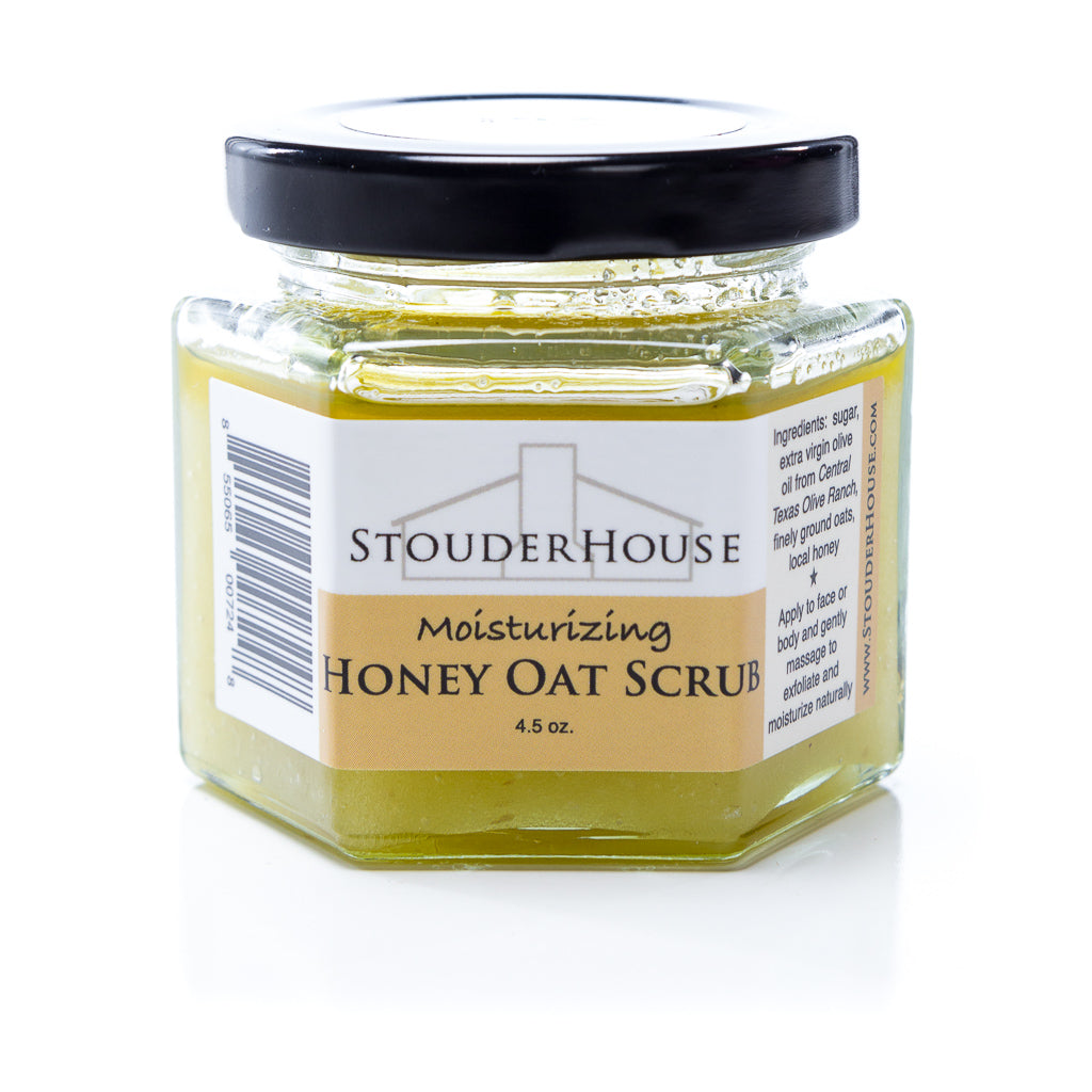 Moisturizing Honey Oat Scrub