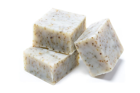 Peppermint Snow Soap