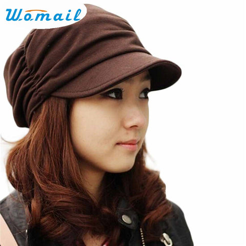 Stylish Women's Military Cap