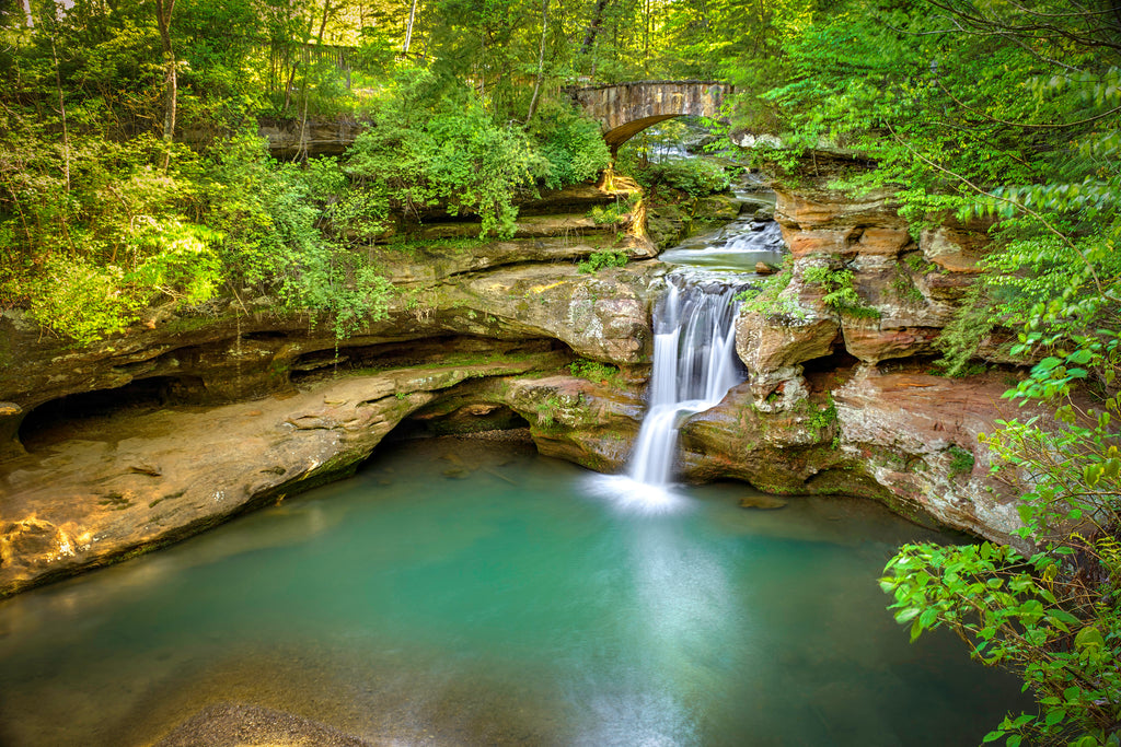 Hocking Hills Upper Falls 1
