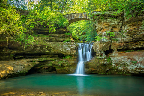Hocking Hills Upper Falls 5