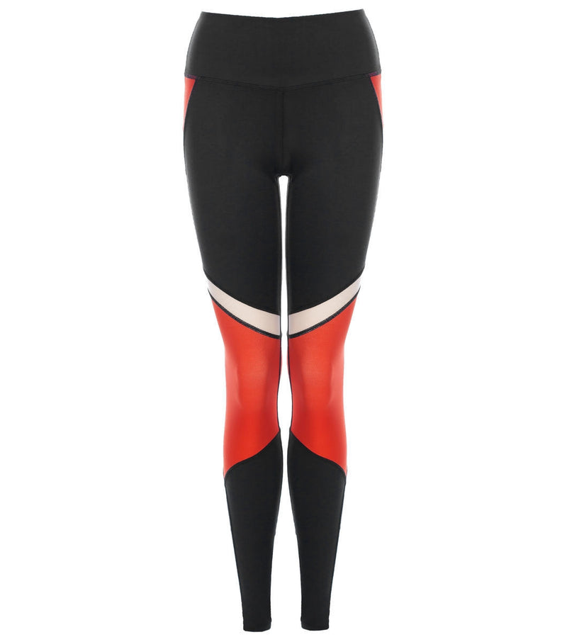 L'urv She's a goddess rød Tights - myactivestyle.no