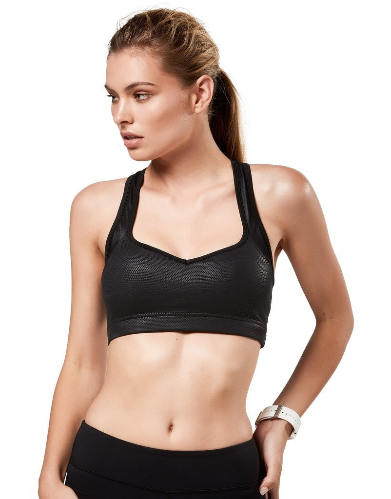 Lilybod BILLIE - BLACK ECLIPSE Sports BH - myactivestyle.no