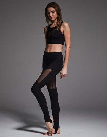 Varley Hillcrest svart Tights - myactivestyle.no
