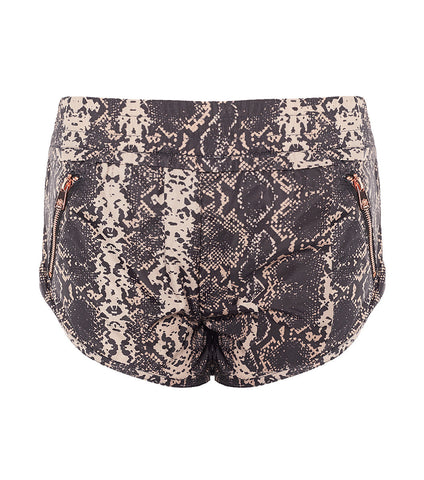 L'urv Beginning of time svart/beige Shorts - myactivestyle.no