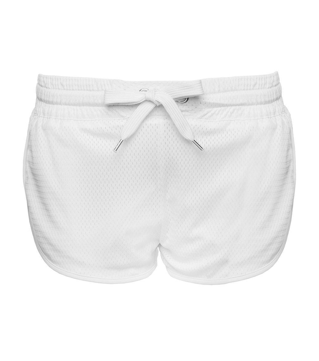 L'urv Fluffy clouds hvit Shorts - myactivestyle.no