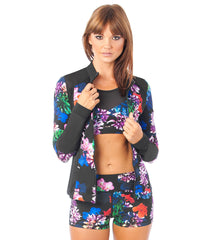 L'urv Flower bomb performance Jakke - myactivestyle.no