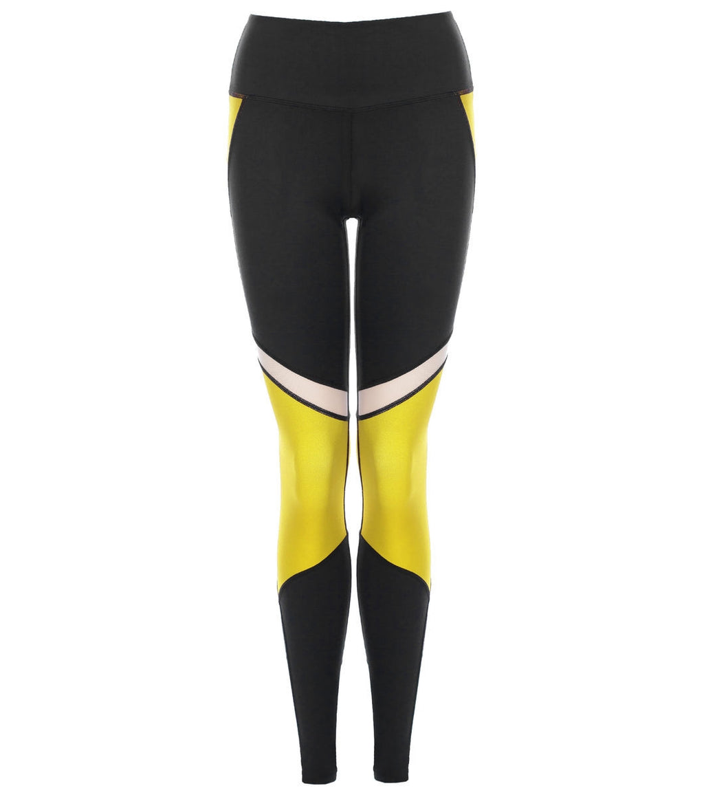 L'urv She's a goddess gul Tights - myactivestyle.no