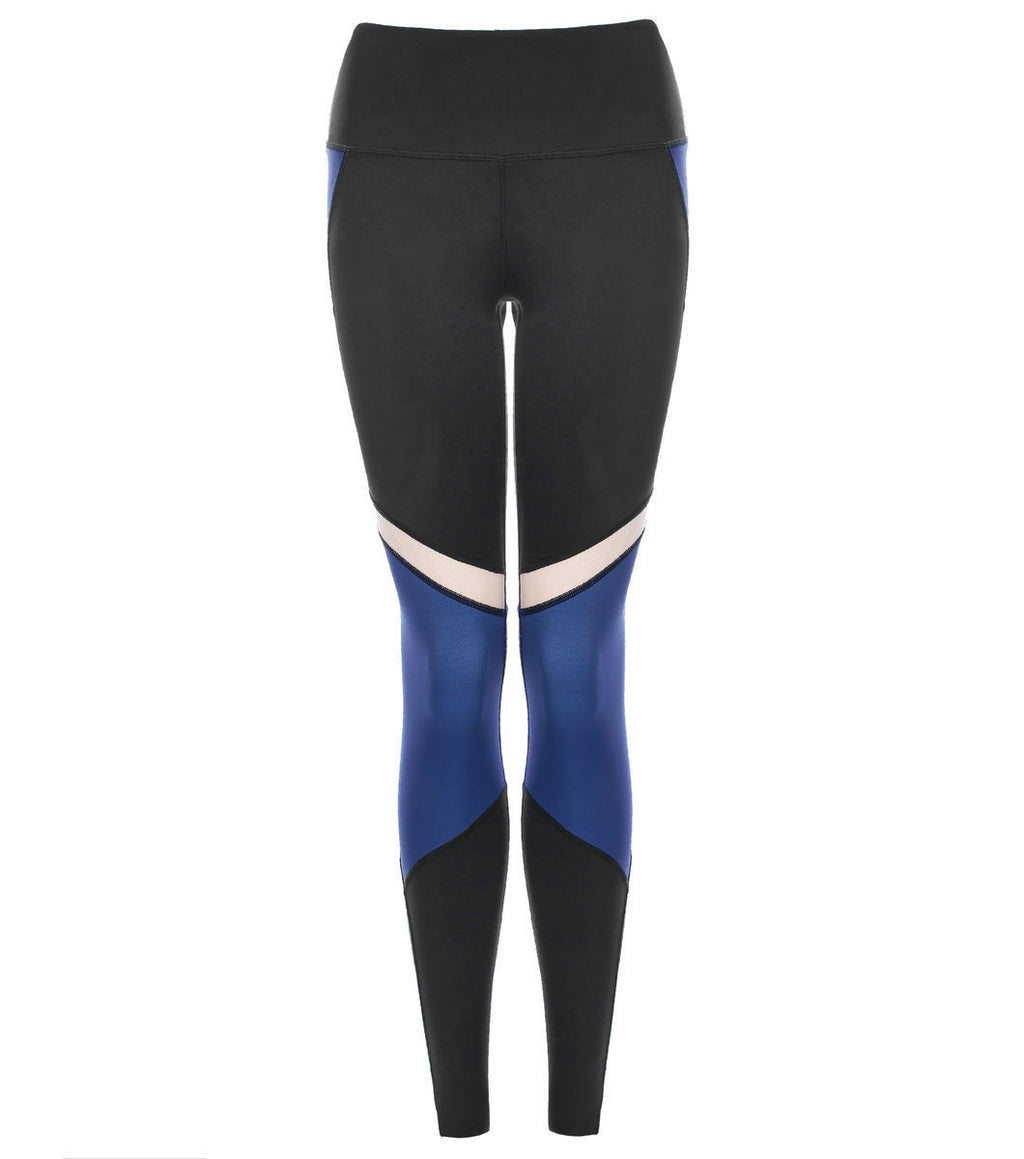 L'urv She's a goddess blå Tights - myactivestyle.no